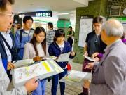 大阪・船場で「減災力」を調査するワークショップ 留学生・会社員ら参加